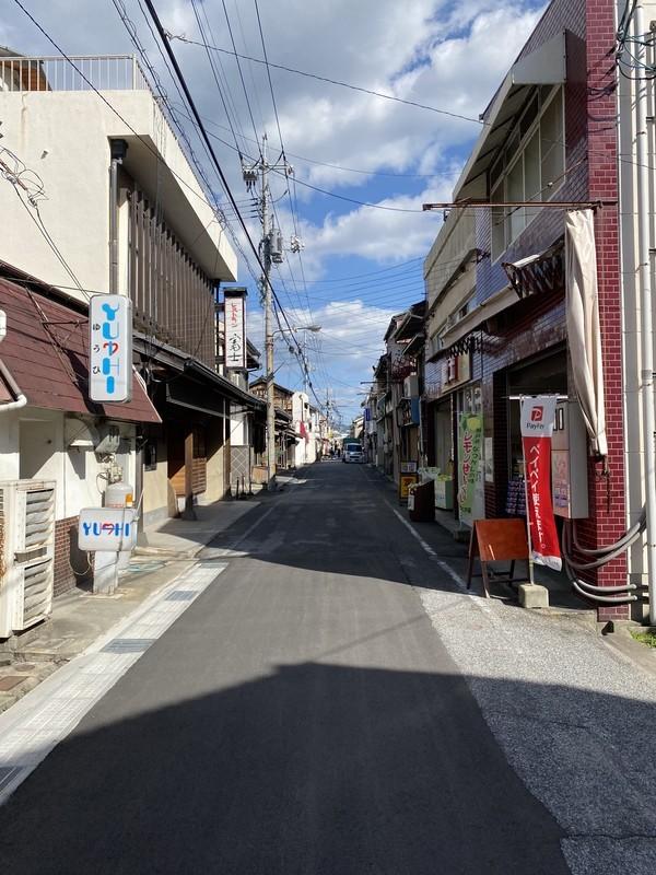 広島県尾道市 「しおまち商店街」様子