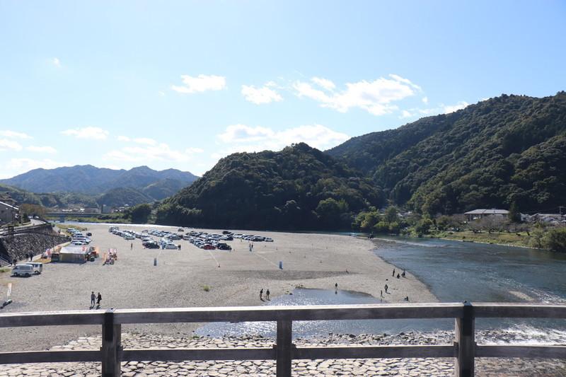 錦帯橋からの風景