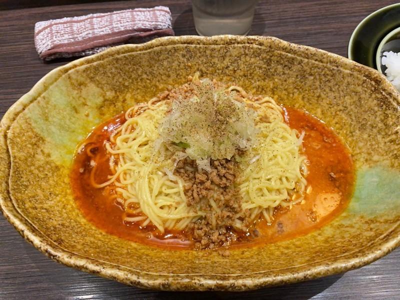 広島の裏ソウルフードでもある「中華そばくにまつ」の汁なし坦々麺は必見