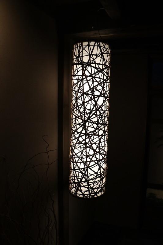 京町家 八重家といち町の1階照明