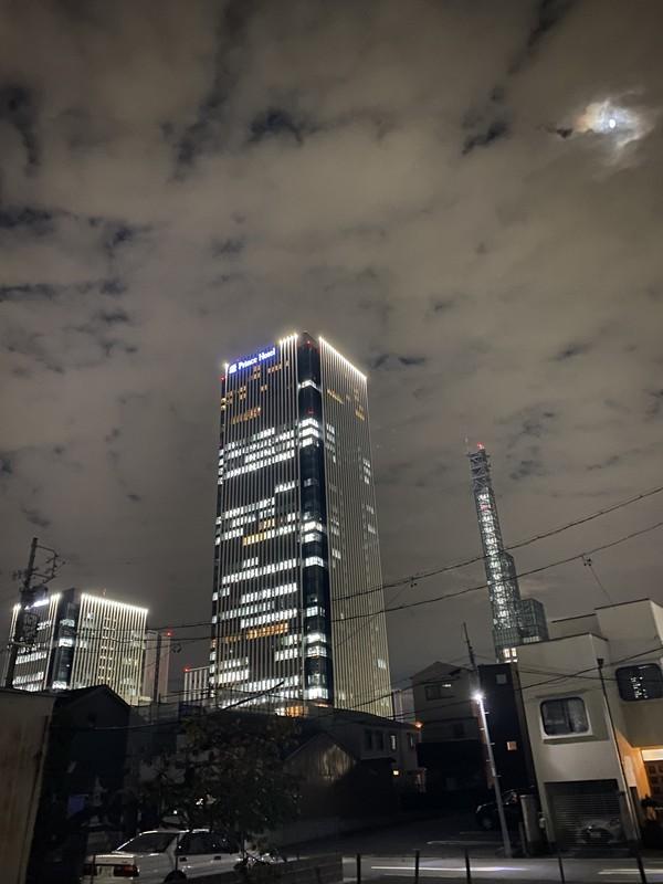 名古屋プリンスホテルスカイタワー 夜の景色