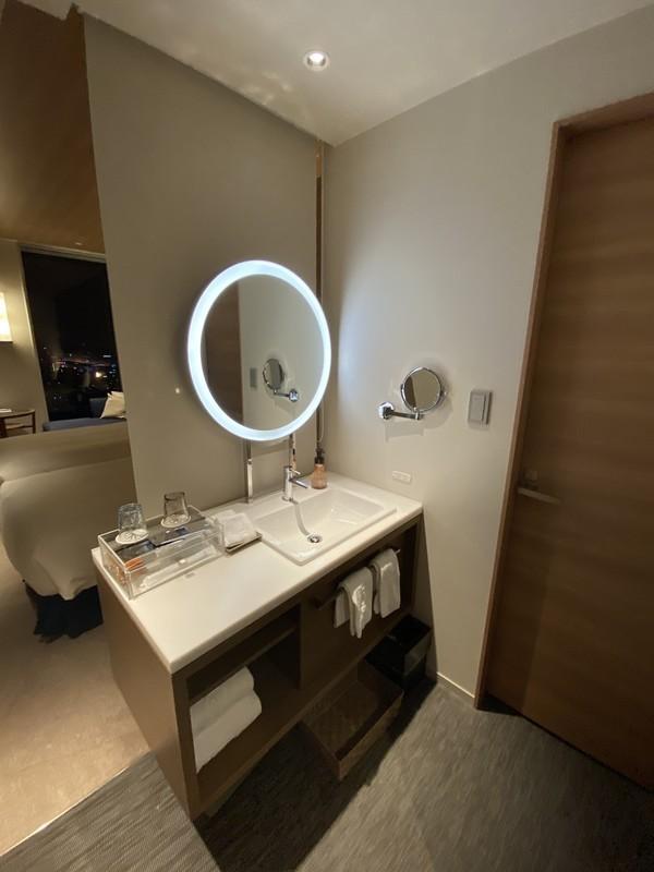 名古屋プリンスホテルスカイタワースカイツインルームシャワールームについて