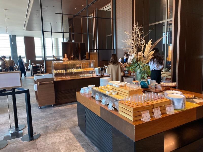 名古屋プリンスホテルスカイタワーの朝食について