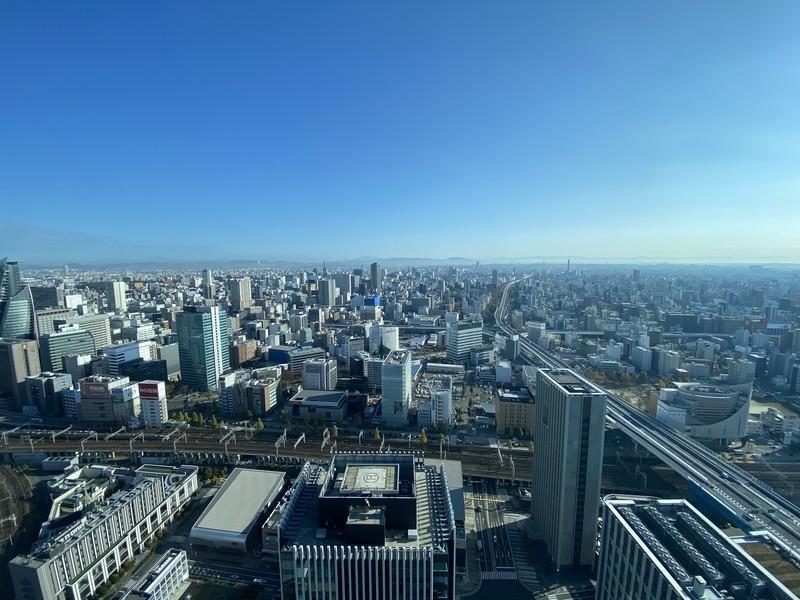 名古屋プリンスホテルスカイタワーの売りはなんと言っても窓からの絶景の景色
