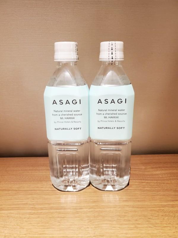 名古屋プリンスホテルスカイタワースカイツインルーム 無料水