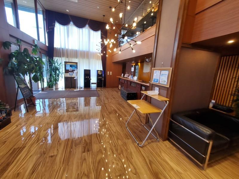 ワットホテル&スパ飛騨高山 フロント