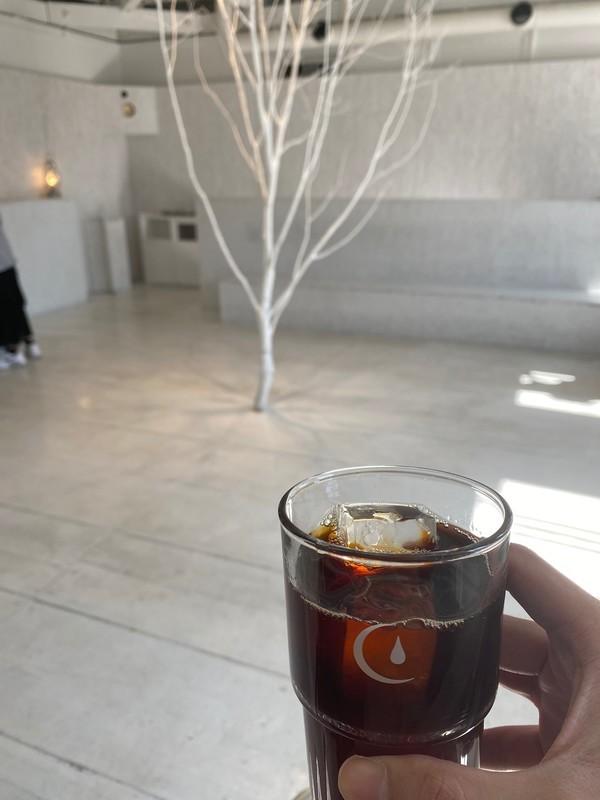 Walden Woods Kyotoの2階で飲むコーヒー