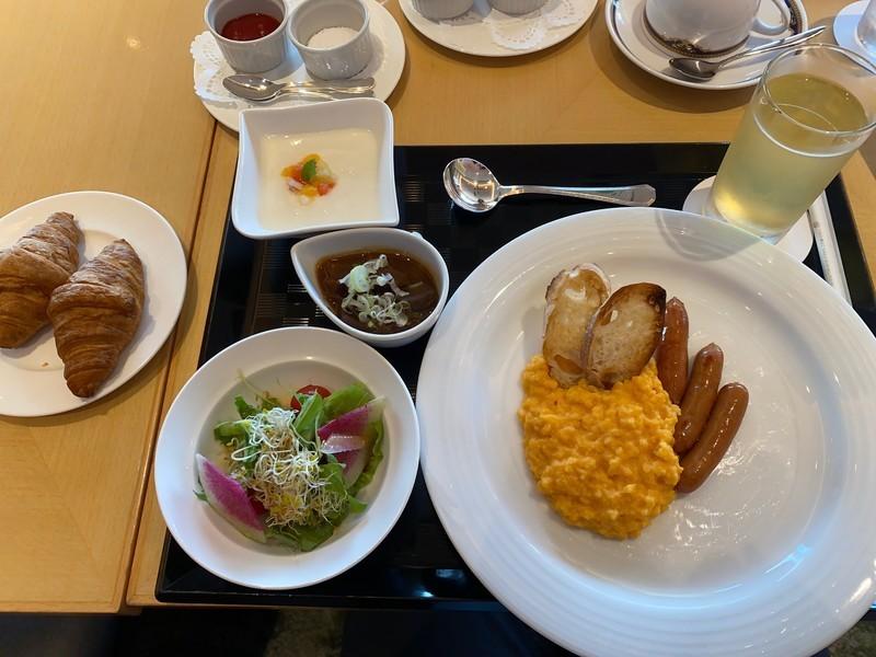 ANAクラウンプラザホテルグランコート名古屋の朝食について