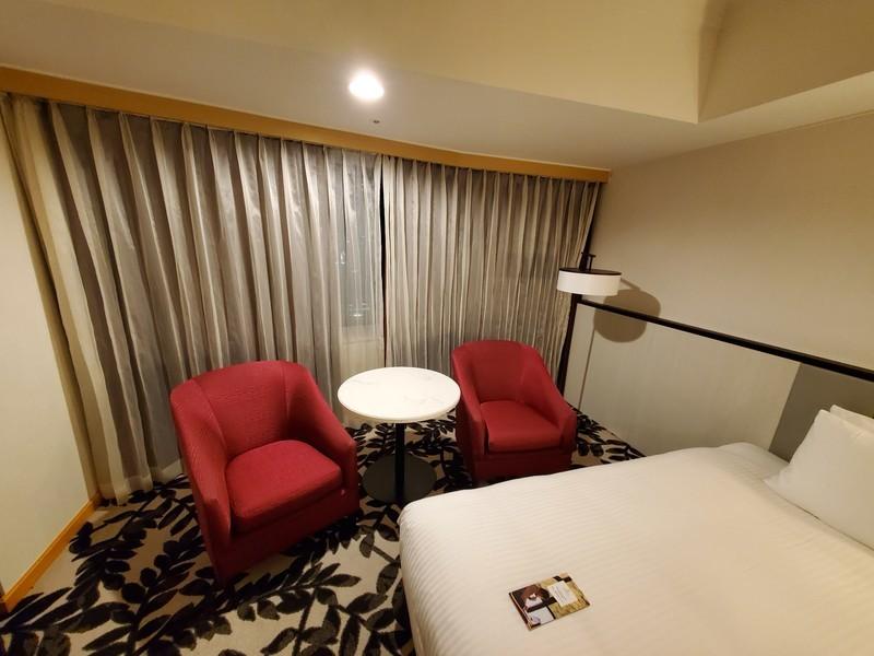 ANAクラウンプラザホテルグランコート名古屋スタンダートツインのお部屋