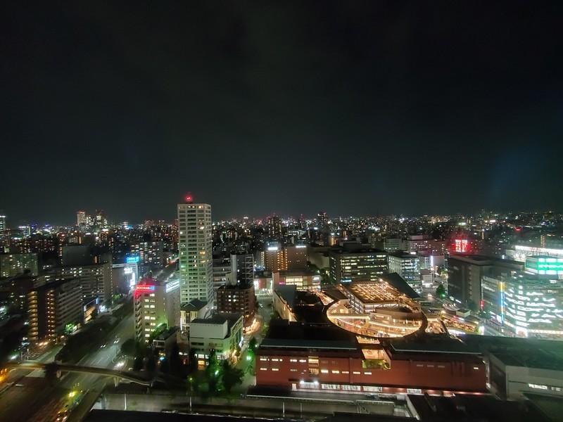 ANAクラウンプラザホテルグランコート名古屋 1番の売りは名古屋を一望できる立地