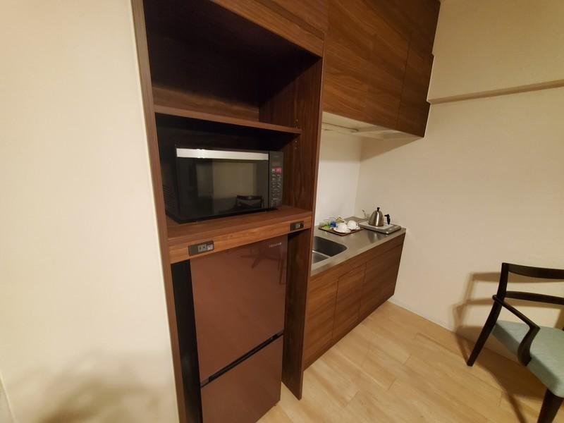 ホテルサンセットヒル パーシャルオーシャンビューツインのお部屋 キッチン