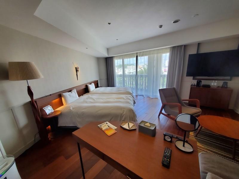 レクー沖縄北谷スパ&リゾートデラックスプレミアムルームのお部屋