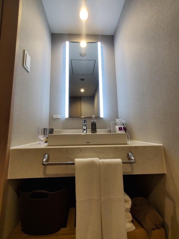 ホテル京阪名古屋スーペリアツインルームのバスルーム・トイレ