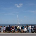 スペースシャトルの打ち上げを見てきました。