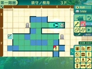 世界樹の迷宮5・3階地図