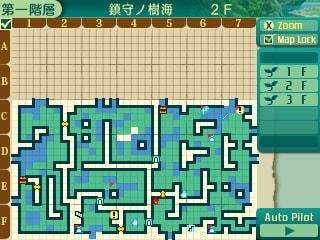 世界樹の迷宮5・2階地図