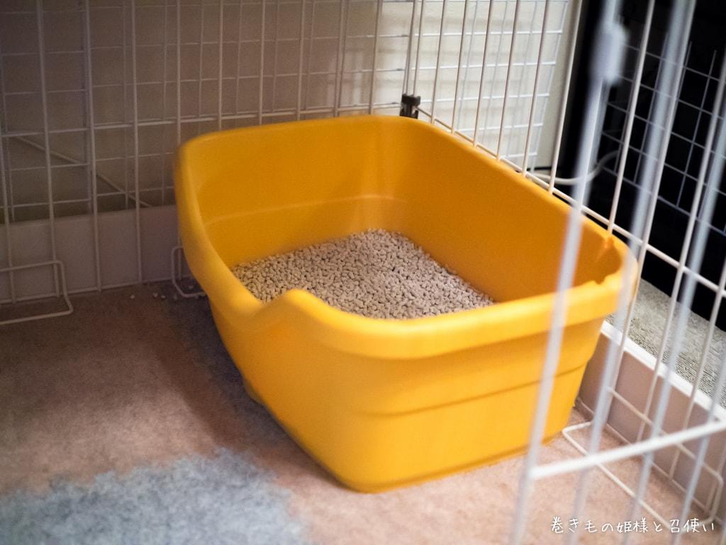 コンパクトな猫トイレ