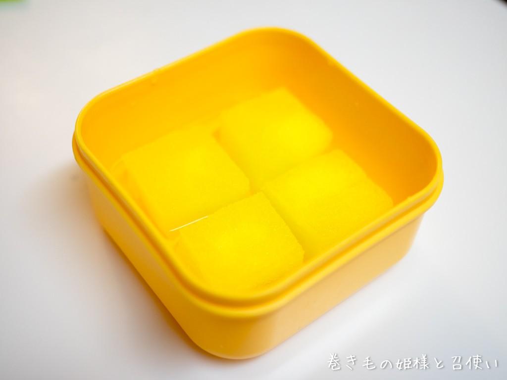 水をタパタパ