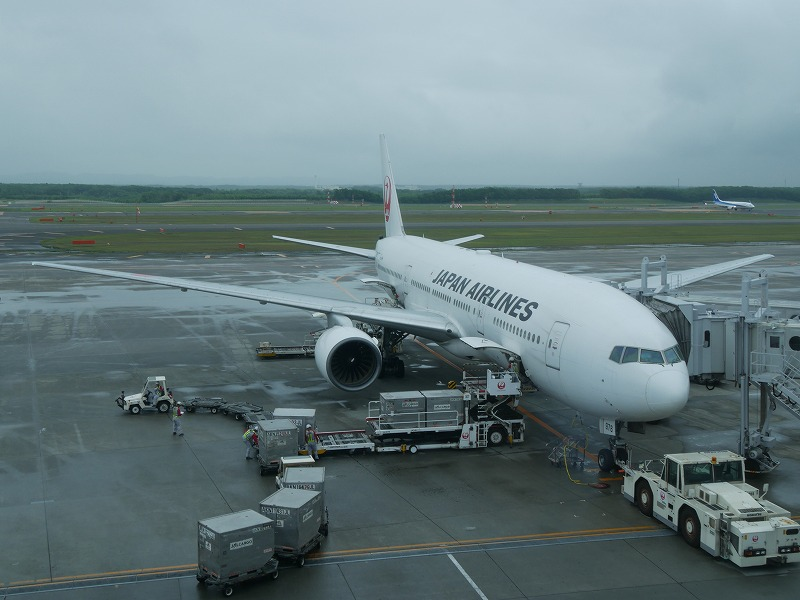 新千歳空港 JAL