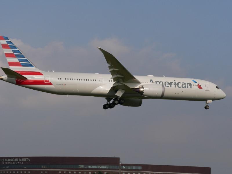 アメリカン航空 787-9 N830AN