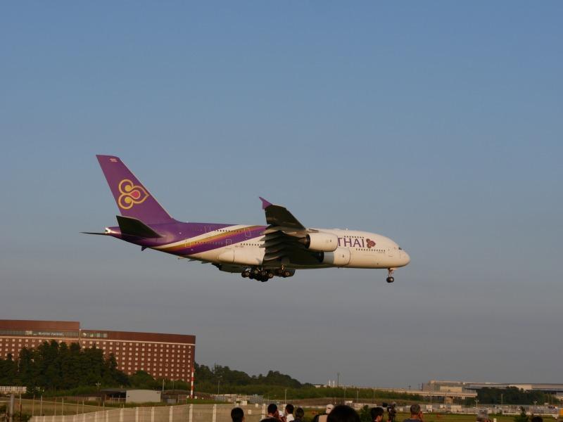 A380 タイ国際航空 HS-TUD