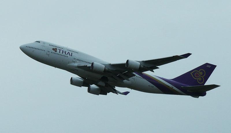 タイ国際航空 B747-400 HS-TGP