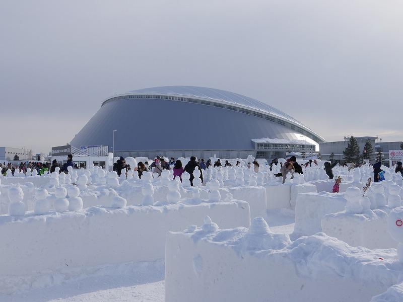 さっぽろ雪まつり つどーむ会場