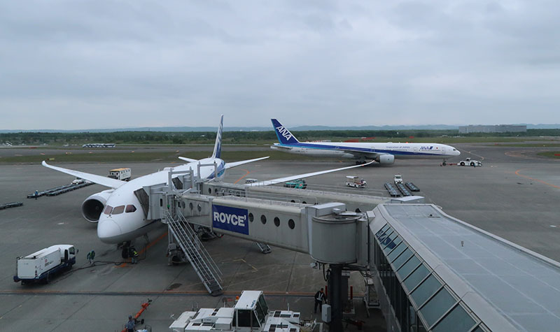 新千歳空港 ANA