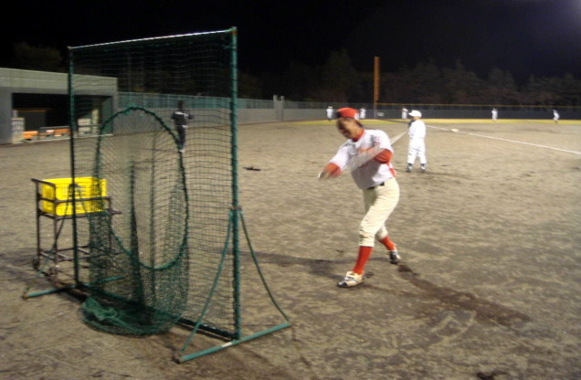 2006年10月26日 石巻総合運動公園野球場にて