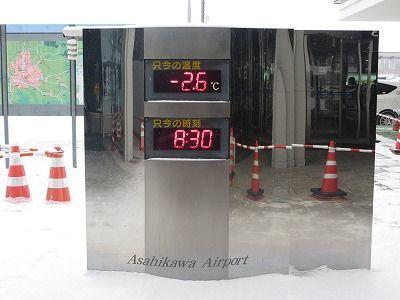 旭川の気温