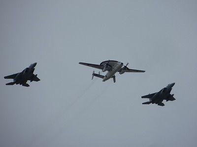 E-2CとF-15