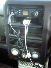 キューブ「Music room」にiPod nanoをつなぐ
