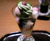 桜パフェ(限定)