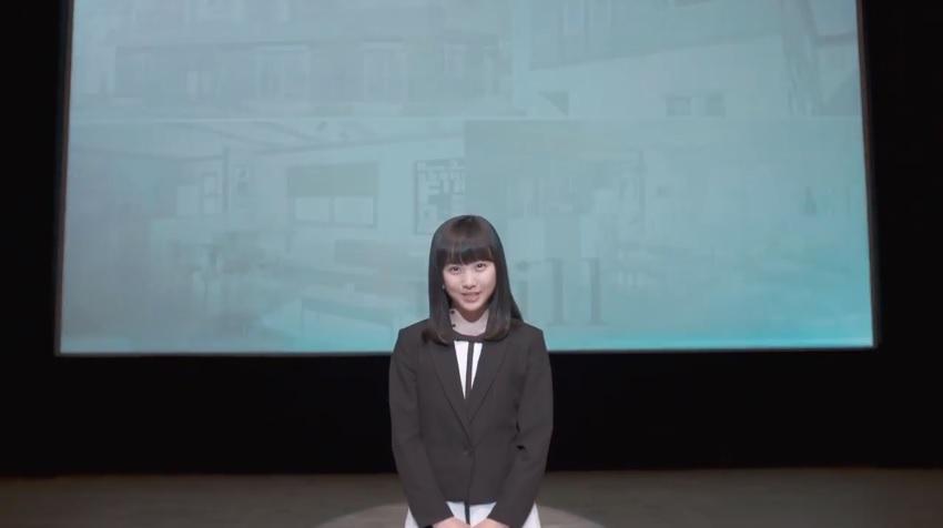 敷島住宅 CM 女の子