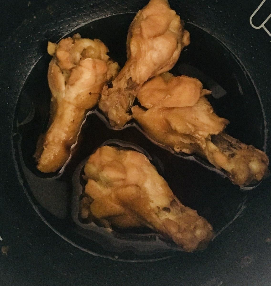 鶏手羽元の甘煮