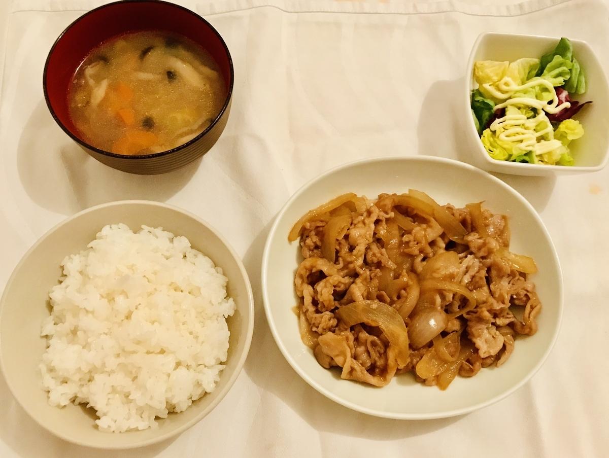 タモリさん流豚肉の生姜焼き