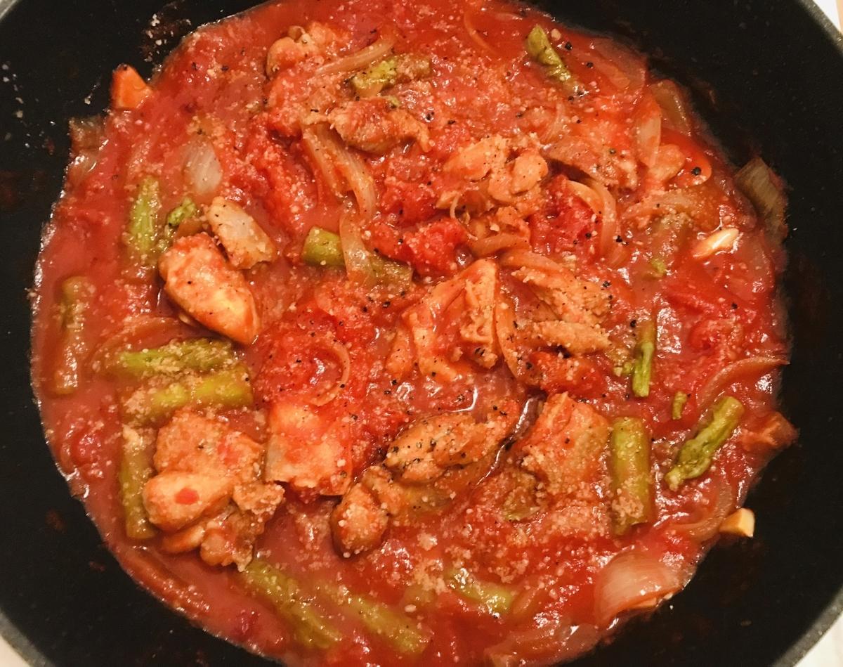 チキンとトマト煮
