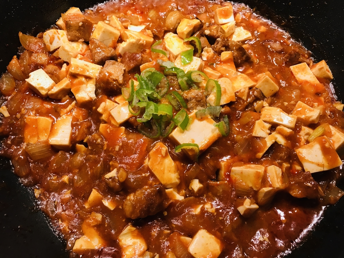 韓国風麻婆豆腐