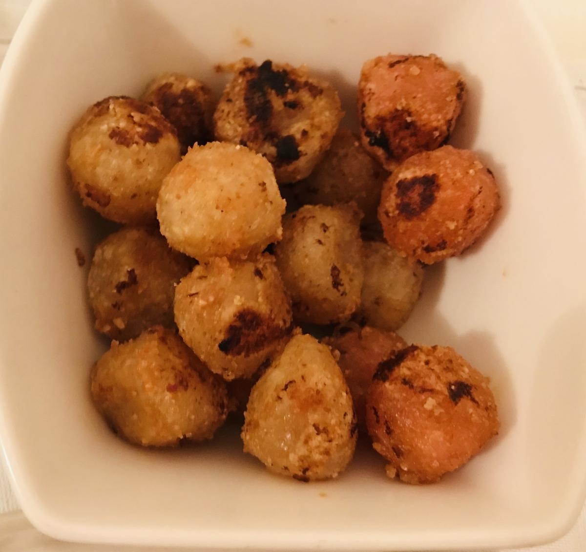 タロイモ餅ボール