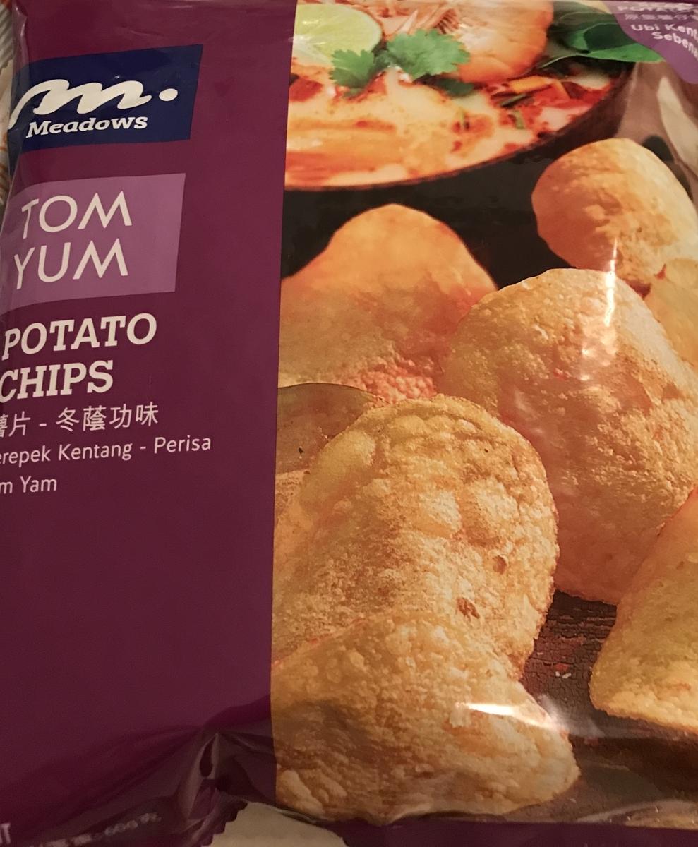 トムヤムクン, ポテトチップス