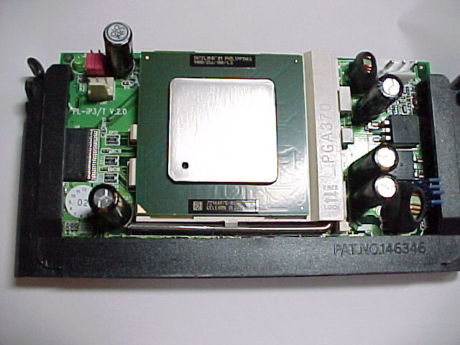 PowerLeap PL-iP3/T と intel Celeron 1.40GHz