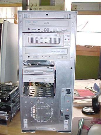 MT-PRO1000(初期型)の前面