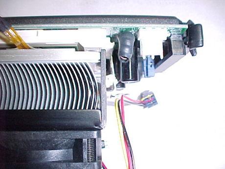 PowerLeap PL-iP3/T の CPUソケット