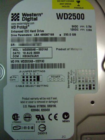 Western Digital WD2500AB