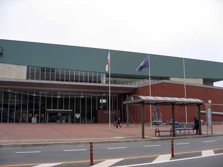 呉市海事歴史科学館(大和ミュージアム)エントランス