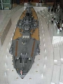 [呉]呉市海事歴史科学館[戦艦大和 1/10 スケール模型 艦尾俯瞰