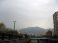 [呉]堺川の橋の上から上流方面を望む