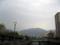 堺川の橋の上から上流方面を望む