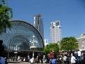 インテックス大阪 ドリームパーティ 会場前の広場