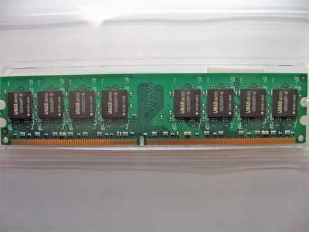 Castor LoDDR2-2GB-800-R1 DIMM 裏側